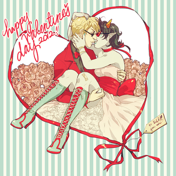 happy valentine's day 2012 by 021