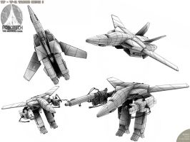 VF-1A Valkyrie Sketch 5 by Bamboo-Learning