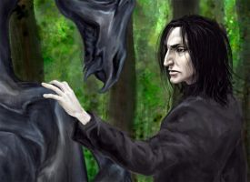 Snape - closeup by Isinar