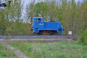 Small diesel loco in Gyor by morpheus880223