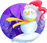Purplesnowman by SuzyQ2pie