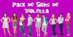 Skin para Rainmeter de Violetta by CutinaEditions