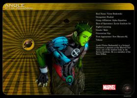 Gay Superheroes: Anole by mongski