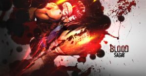 Blood-Sagat by GreenMotion