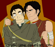 Iroh and Bolin - Irolin by Kerushi-sama
