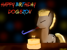 Happy Birthday Dogezon! by Noah-x3