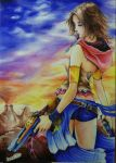 Yuna (Final Fantasy X-2) by Romel-t2