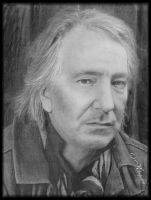 Alan Rickman II by KleopatraAurel