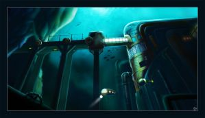 Underwater Facility by Le-Balthazarn