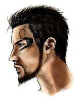 Profile of Adam Jensen by Natsuyume