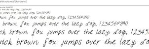 My Handwriting font by EdithSparrow
