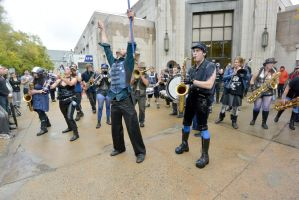 2014 Honk Festival, Chaotic Noise and Conductor 9 by Miss-Tbones