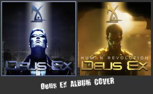 DeusEx Album Cover by shinobireverse