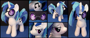 Vinyl Scratch Plush by EquestriaPlush