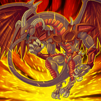Red Dragon Archfiend by CometTheMicroraptor