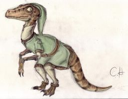 Velociraptor Link by mrstupes