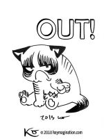 Grumpy Cat 08 Out! 2013 by Keymagination
