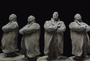 Biggie sculpture by The-Art-Official