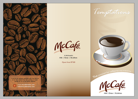 McCafe Menu design _FRONT by mangion