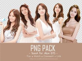 Yoona For Alcon BTS PNG PACK by NS-Nadhira18