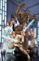 Star-Wars - A New Hope by Eddy-Swan