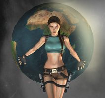 Lara Almighty by tombraider4ever