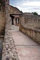 Herculaneum bathhouse exterior by eyefeather-stock