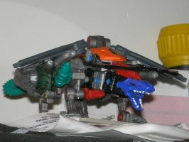 unnamed chimera zoid by Spikeheila