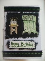 Minecraft Bday Card by PossumPip-Creations