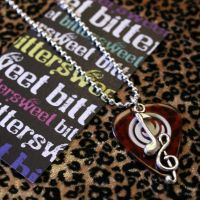Music Pick Necklace by BittersweetXOXO