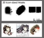 20 Icon Sized Masks by thexunknown