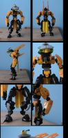 bionicle:  xentus by CASETHEFACE