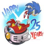Sonic 25th Anniversary by SupaCrikeyDave