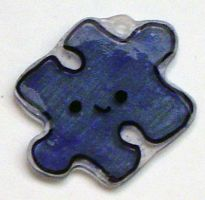 Kawaii Charms- Puzzle Piece by Isilian