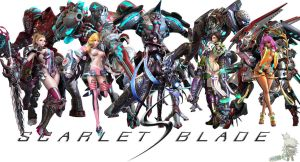 Scarlet Blade Cover Photo Mk-II by BlackAce11094