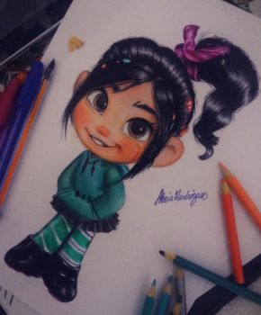 Vanellope by AlexiaRodrigues
