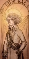 Enjolras by quiteproustian
