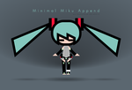 20140512 Minimal Miku Append by RoninYorch