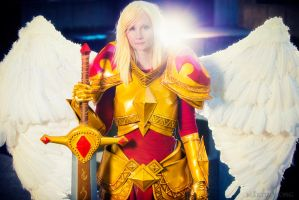 Kayle Cosplay: League of Legends by vandersnark