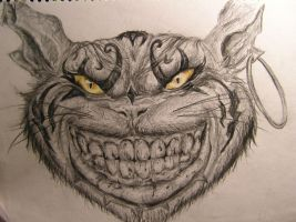 Cheshire Cat by Abatwa-Oolie