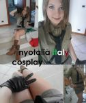 nyotalia Italy cosplay by NENEBUBBLEELOVER