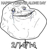 happy forever alone day by Princess-Corrine