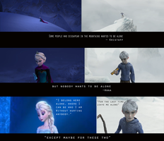 Jelsa~ similarities and coincidences :) by AngelUnicorn123