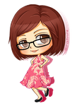 Commish: Chibi Debra 5$ by BurningArtist