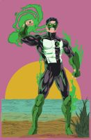 Kyle Rayner by ParalaxKaine