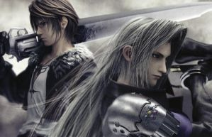 Dissidia:Squall and Sephiroth by Moluscum