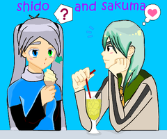 sakuma and shido by BLUENEKOALEX
