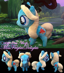 Pony Plush: Alice -FOR SALE- by SnowFright