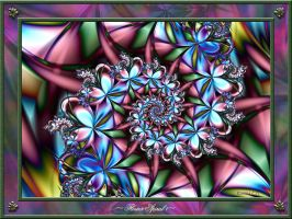 Flower Spiral 1 by rosehumr