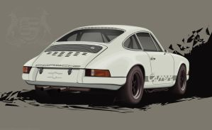 Porsche Carrera 911 50th Anniversary Tribute by EvolveKonceptz